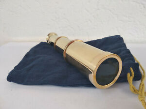 Telescope-longue-vue-en-laiton-neuf-longueur-15cm