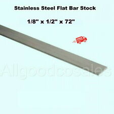 Stainless Steel Flat Bar Stock 18 X 12 X 6 Ft Rectangular 304 Mill