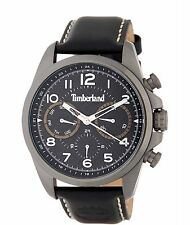 TIMBERLAND MEN'S SMITHFIELD LEATHER WATCH #TBL14769JSU NEW WITH BOX