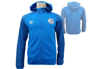 Umbro-FC-Schalke-04-Kapuzenjacke-blau-S04-Hoody-Fan-Jacke-Bundesliga-Gr-S-XXL