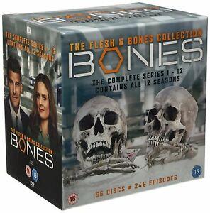 Bones Stagioni 1 A 12 Collezione Completa Nuovo DVD Region 2