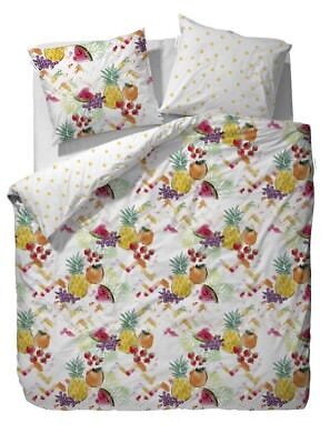 Bettwäsche UnabhäNgig Covers&co Bettwäsche Frutas Multi Bunt Obst Früchte Trauben Ananas Renforcé Bettwaren, -wäsche & Matratzen