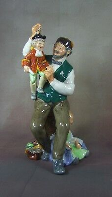 ZuverläSsig Royal Doulton Figur - The Puppetmaker - Hn2253 - Made In England.