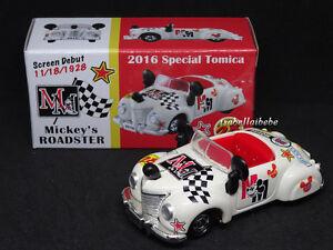 Tomica-Tokyo-Disneyland-2016-Special-28MM-Mickey-039-s-Roadster-Diecast-Car-TDR