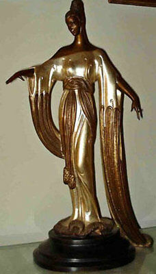 "Erte    (Romain De Tirtoff)    ""Negligee""   Bronze   MAKE OFFER  DSSBA"