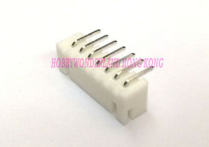 XH-JST-2-5-7-Pin-Male-Right-Angle-Connector-Header-wire-to-board-plug-x-50-pcs