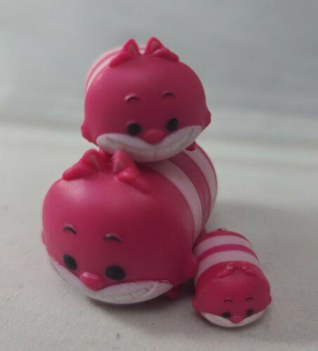 Authentic Disney Tsum Tsum Stack Vinyl Cheshire Cat Small Medium Large Figures