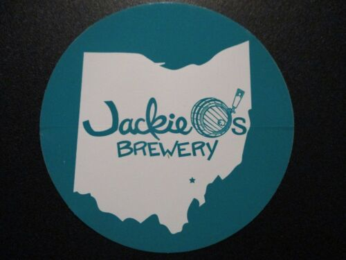 JACKIE O/'S PUB Ohio Turquoi Circle Logo STICKER decal craft beer brewery brewing