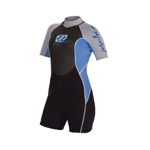 Woman  wetsuit Shorty MVP Spring blueee Jet Pilot - L- jetski - wake - PWC