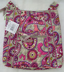 NEW Vera Bradley Hipster Crossbody Shoulder Bag Black Purple Red Yellow NWT