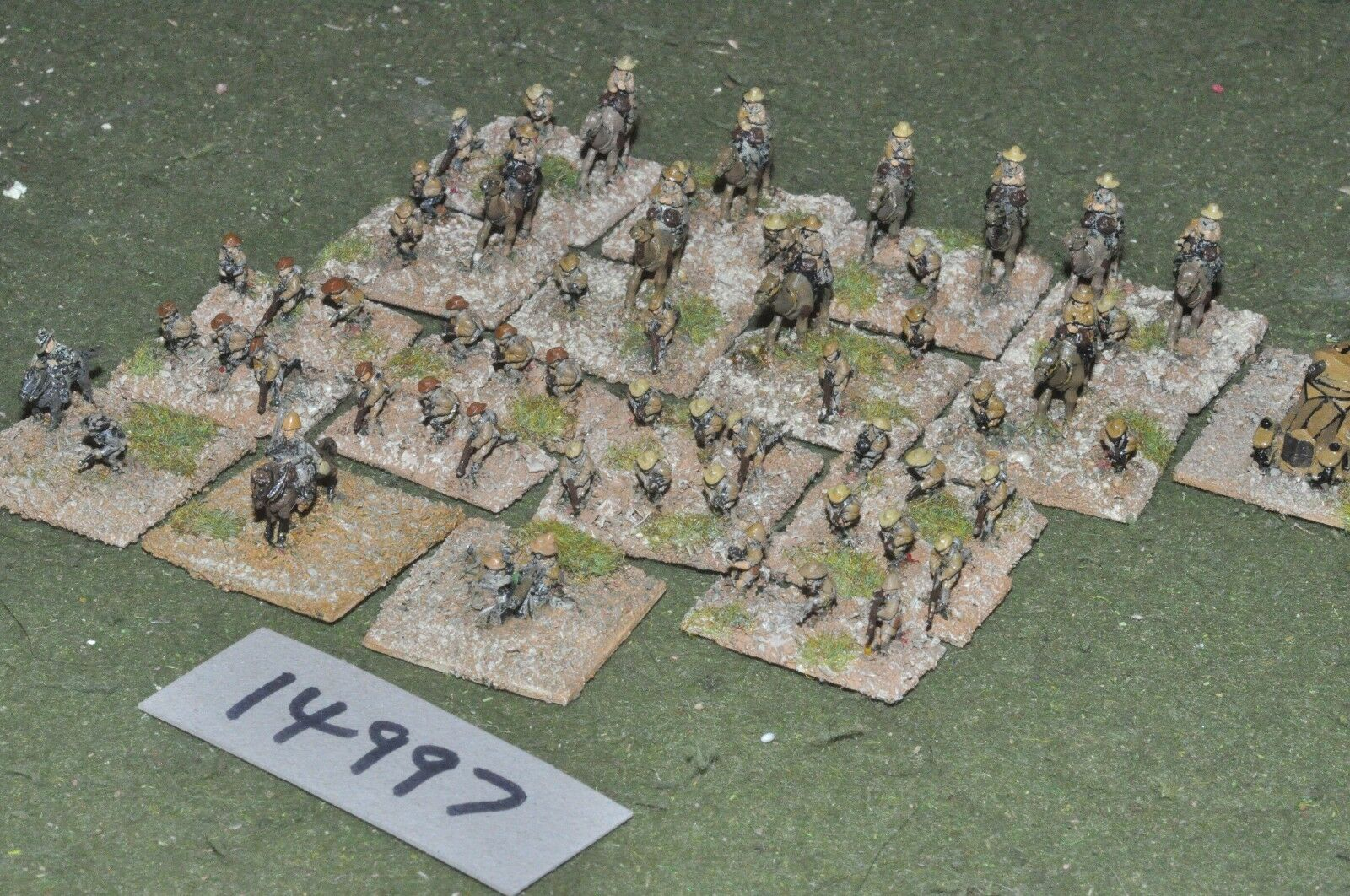 10mm WW1   british - middle east recce battle group - inf (14997)