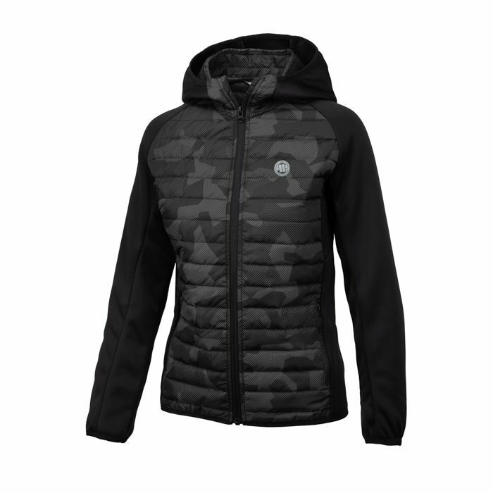 0bf64c1cfd2062 PitBull Westcoast Damen Jacke Holly schwarz Hybrid Sport nphdza2239-neue  Kleidung