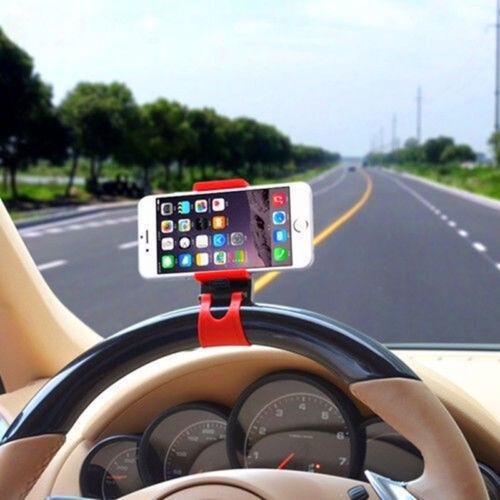 AUTO ACCESSORIES Clip Car Steering Wheel Bike Handlebar Holder For Benz BMW