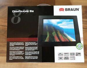 Braun DigiFrame 82 Digitaler Bilderrahmen 20,3 cm 8 Zoll Schwarz
