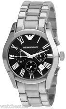 Emporio Armani Classic Chronograph Black Dial Men's Watch AR0673