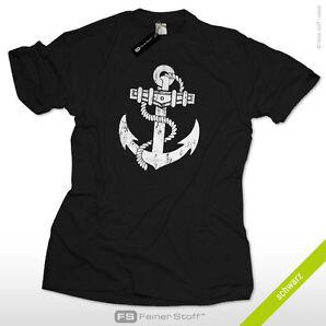 Anker t-shirt S-3XL anchor rockabilly sailor matrose segeln surf segler pirat