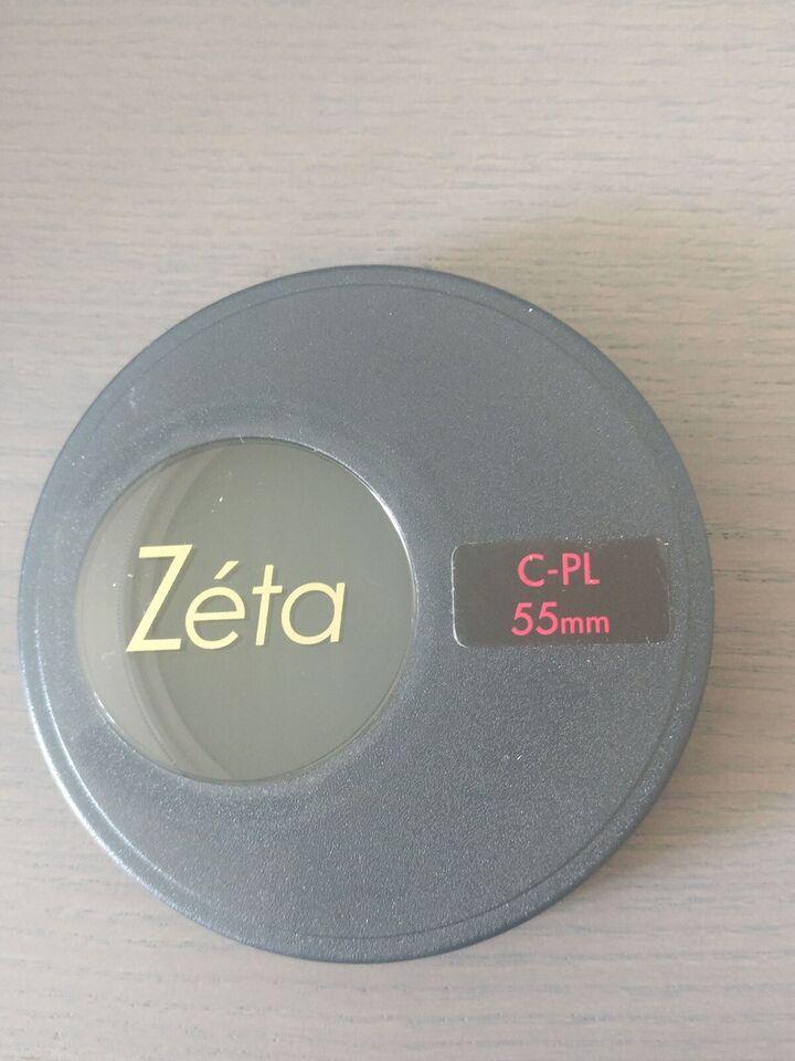 Pol filter, Zéta, C-pl 55mm pol filter