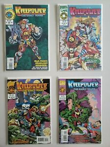 Killpower-1993-The-Early-Years-1-2-3-4-Marvel-UK-Set-Series-Run-Lot-1-4-VF-NM