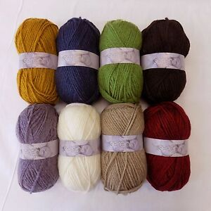 Details about Wendy Serenity 100g Chunky, Wool, Alpaca and Acrylic Knitting  Yarn FREE UK P&P