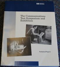 Technical Papers Hp Hewlett Packard Communications Test Symposium Amp Expo 1991