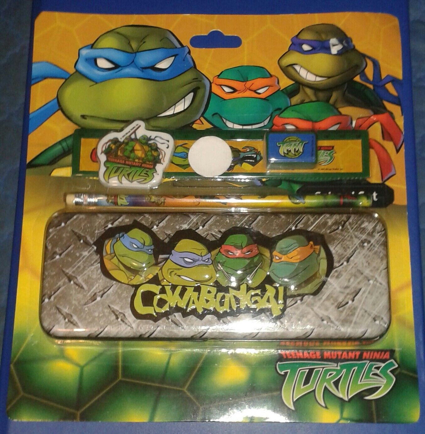 2004    - schule - set moc    mint auf der karte teenage mutant ninja turtles