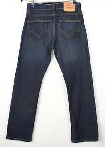 Levi's Strauss & Co Hommes 506 Standart Jeans Jambe Droite Taille W30 L32 BBZ371