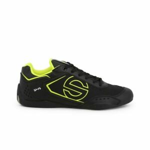 SPARCO SP-F5 Men's black/yellow leather