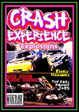 Drag Racing Mishaps, CRASH EXPERIENCE,, A Main Event Entertainment DVD
