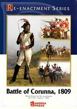 Battle Of Corunna Andrea Miniatures Re-enactment Series Book Soft Cover