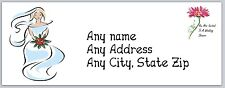 30 Personalized Return Address Labels Bridal Shower Bride Buy3 Get1 free(c 645)