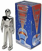 The Day The Earth Stood Still Gort 5 Nickel Plated Special Edition