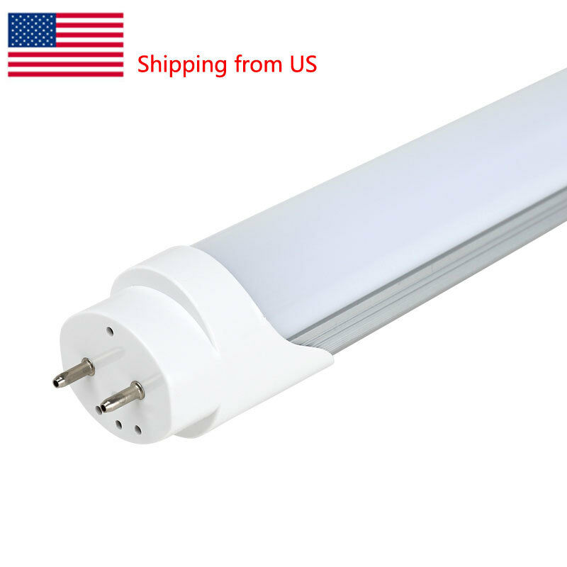 10 25 pcs 4FT LED Light T8 Fluorescent Replacement Tube 3000K G13 18w Warm White