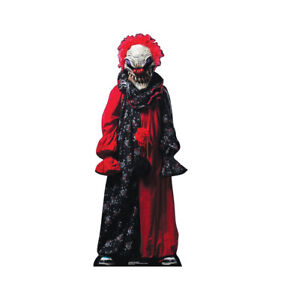Creepy Clown Halloween Decorations.Details About Creepy Clown Outdoor Life Size Stand Up Brand New Halloween Decoration 2636