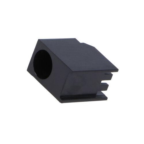 20x FIX-LED-535 LED-Gehäuse 5mm Polyamid abgewinkelt 3 PIN schwarz