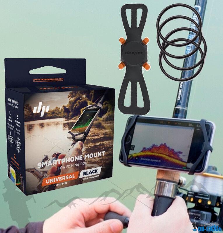 NEU NEU NEU Deeper Smart Sonar Pro SET + Smartphone Halter Night Cover Flexarm + Case XL 3aee8e