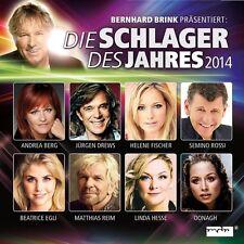 BERNHARD BRINK PRÄSENTIERT: DIE SCHLAGER DES JAHRES 2014 2 CD NEU