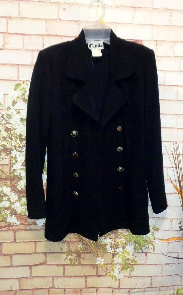Black Blazer Jacket size Small Pre-Owned