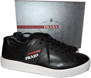 Black Leather Shoe 9 Uk
