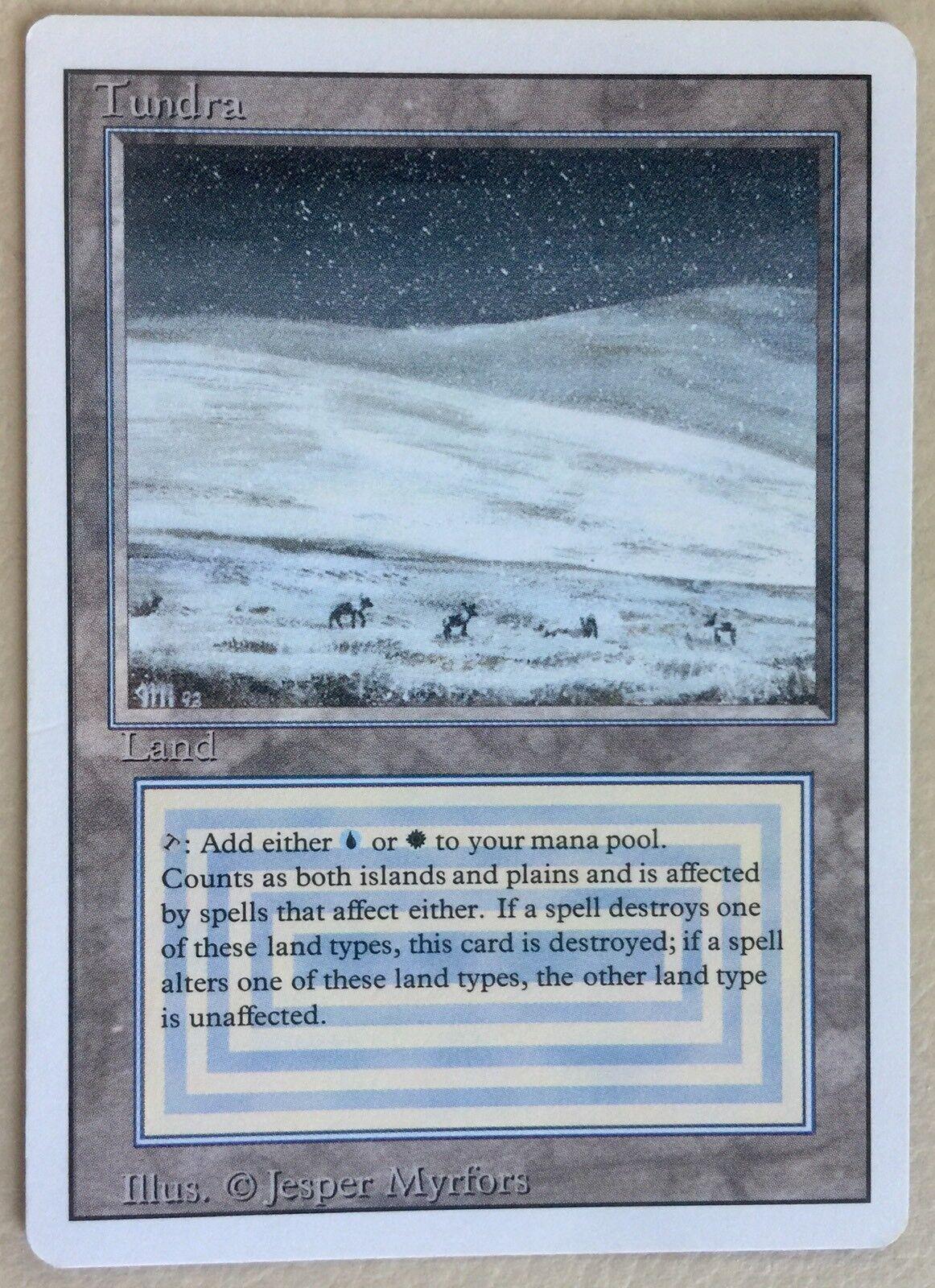 Reviderad Tundra X1 Mtg Magiska sammankomsten