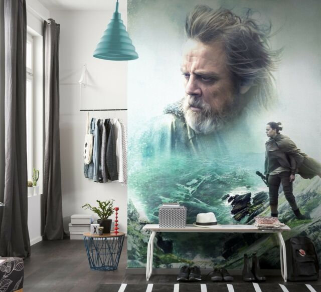Disney Wallpaper Star Wars Wall Mural 254x184cm The Last Jedi Giant Poster Decor For Sale Online