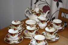 Royal Albert Old Country Roses  Tea service for 6  The perfect wedding present