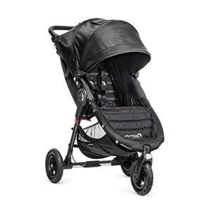 Baby-Jogger-2017-City-Mini-GT-Compact-All-Terrain-Stroller-Black-Brand-New