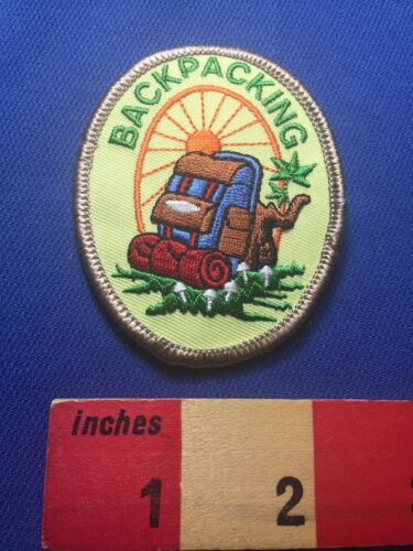 Fun Backpack BACKPACKING Hiker Patch ~ 73X0