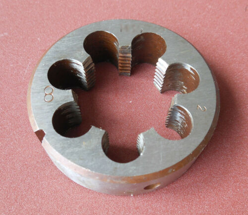 1pcs Metric Right Hand Die M34X1.0mm Dies Threading Tools 34mmX1mm pitch