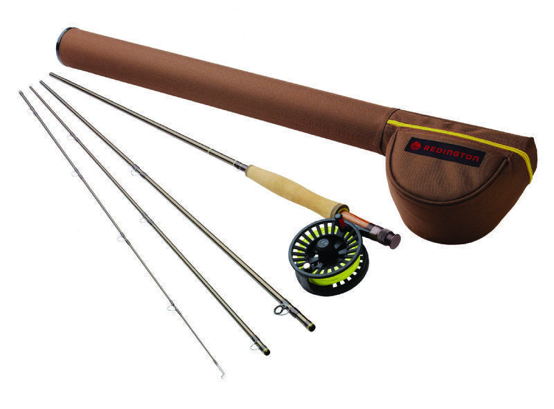 rossoington Path II 8904 Fly asta Outfit  9' 8wt, 4pc asta, reel e line  nuovo