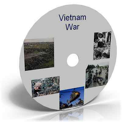VIETNAM WAR IMAGES, HISTORIC PHOTO CD ARMY MARINES NAVY