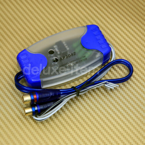 NEW RCA Car Line Converter Output Adapter HI LOW LEVEL