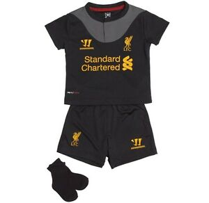 pretty nice b1518 ec352 Details about Liverpool LFC Collectable Infant Babies Fooltball Away Full  Kit 12/13 BNWT 0-18