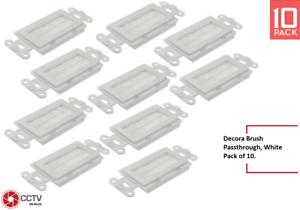 CCTVOnSales Decora Brush Insert Passthrough White Pack Of 10
