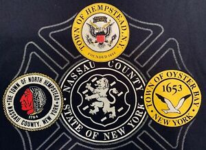Details about Fire Department Nassau County Long Island NY T-Shirt Sz XL  FDNY